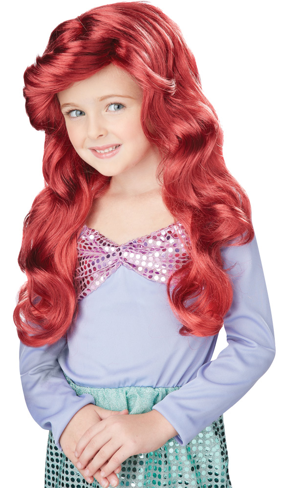 Featured Image for Lil Mermaid Red Wig