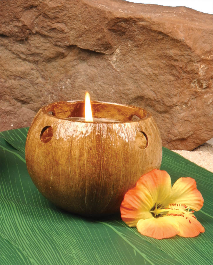 Featured Image for Coconut Tealight Candle Holder
